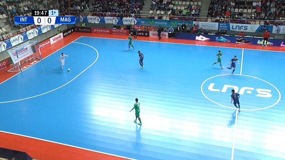 Producción audiovisual fútbol sala eurosport