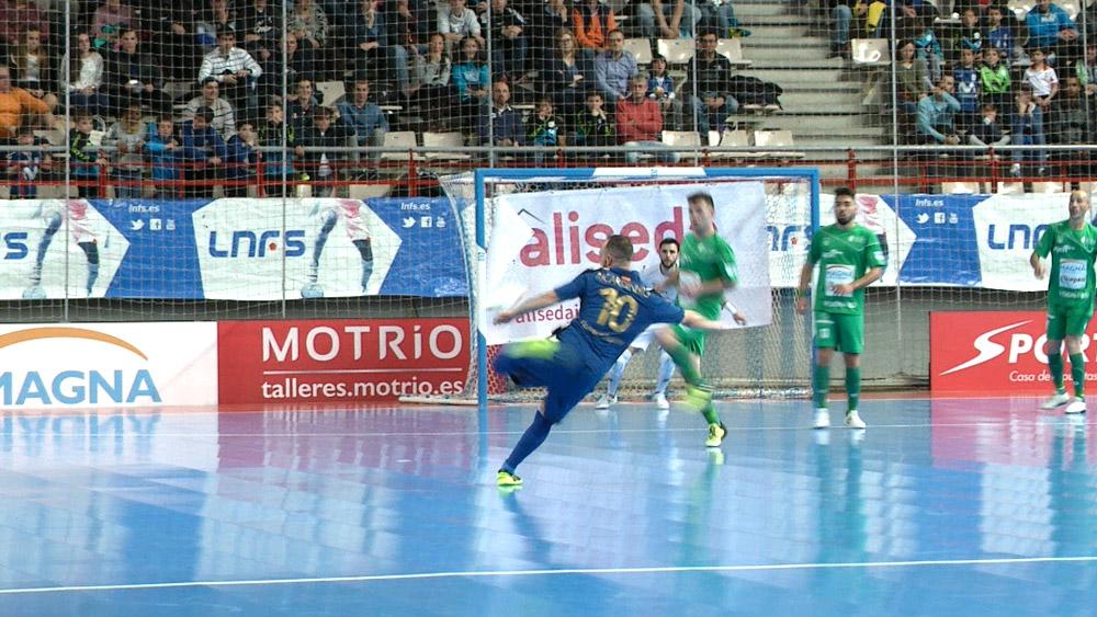 Producción audiovisual fútbol sala eurosport, futsal