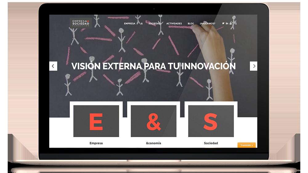 web empresa y sociedad, desarrollo web